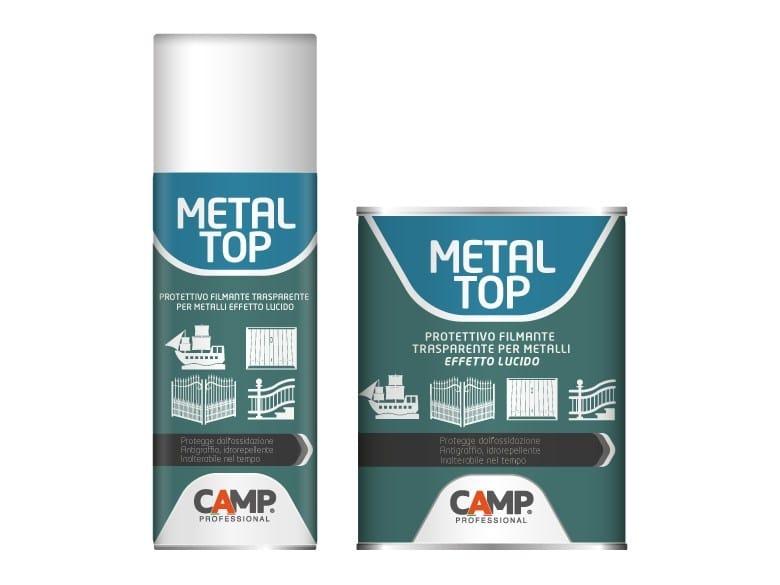 Transparent varnish METAL TOP - CAMP