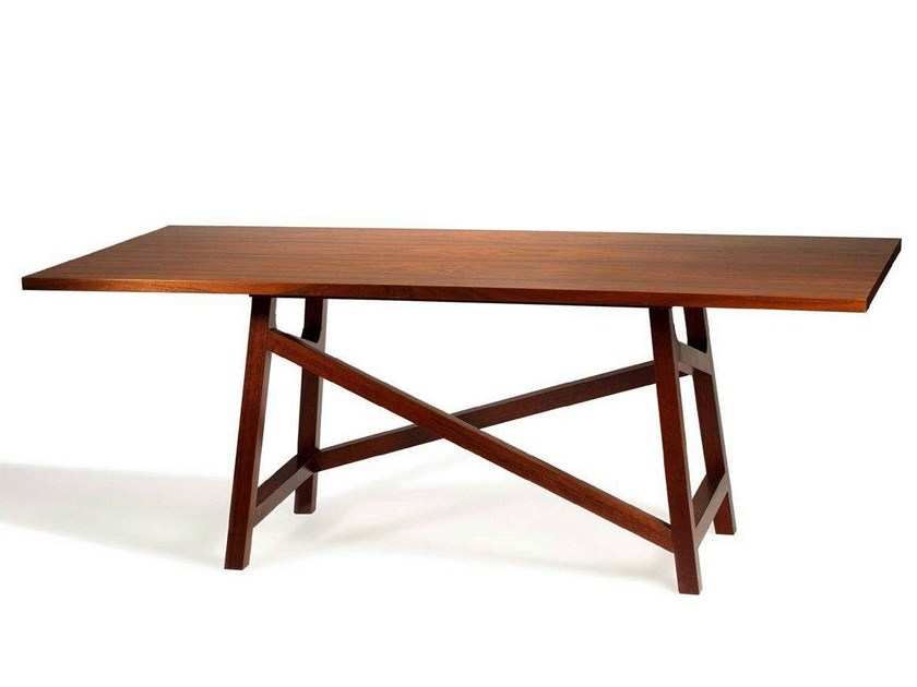Lacquered rectangular table MIU - Mambo Unlimited Ideas
