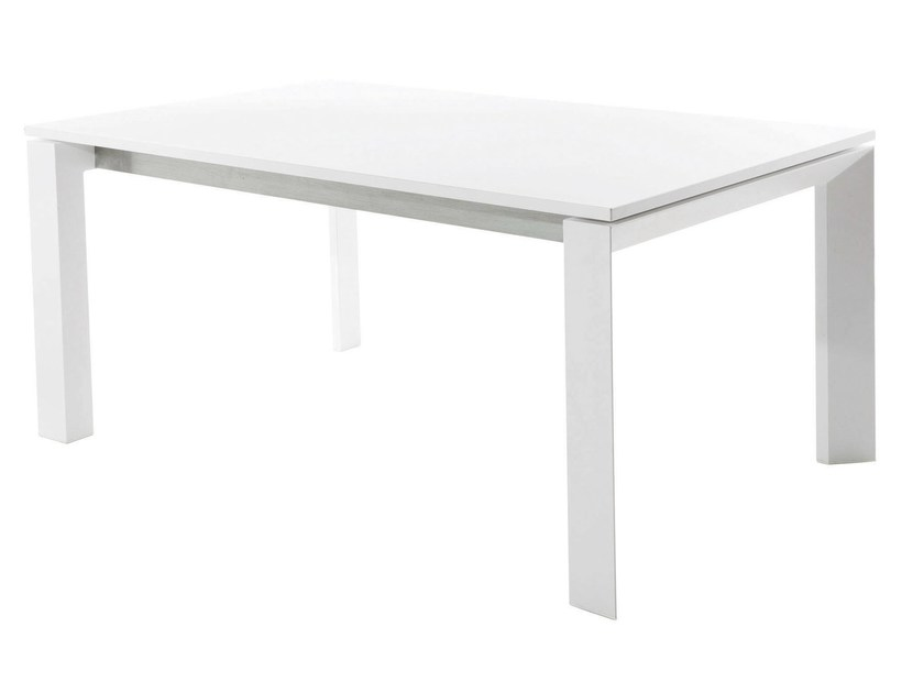 Extending rectangular HPL table DOLMEN | Table - Varaschin