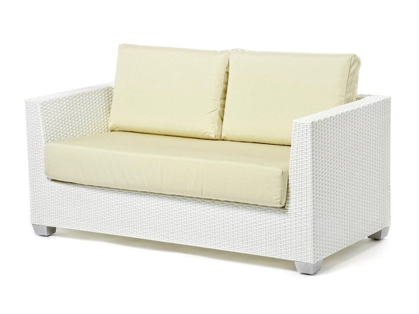 2 seater sofa with synthetic fiber weaving GIADA | 2 seater sofa - Varaschin
