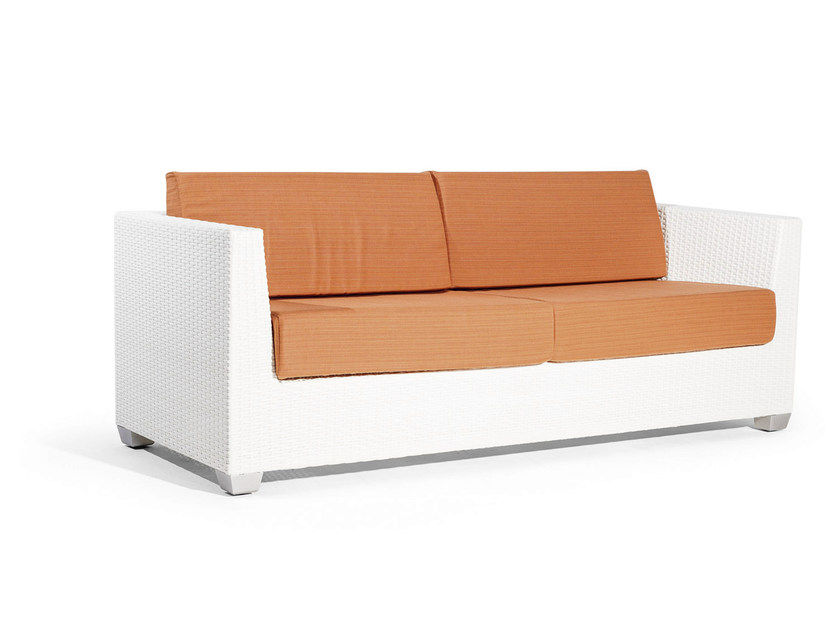 3 seater sofa with synthetic fiber weaving GIADA | 3 seater sofa - Varaschin