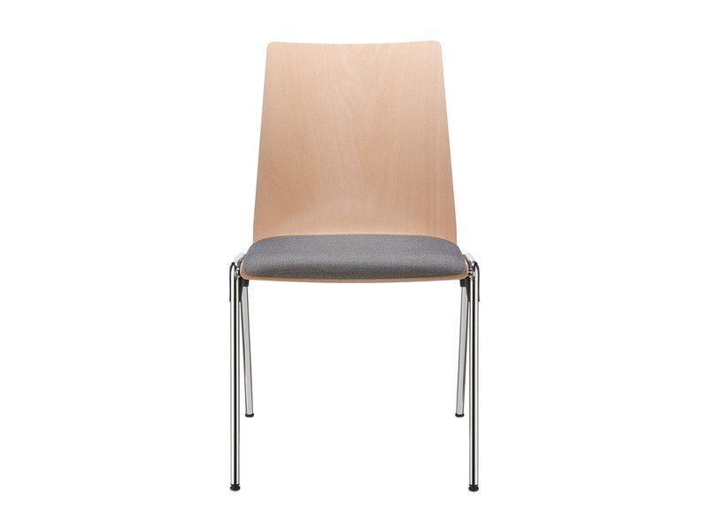 Wooden chair HERO | Reception chair - Brunner