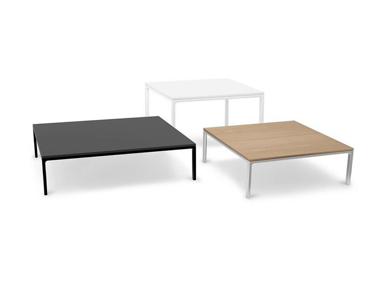 Low square side table RAGLAN | Coffee table - Andreu World