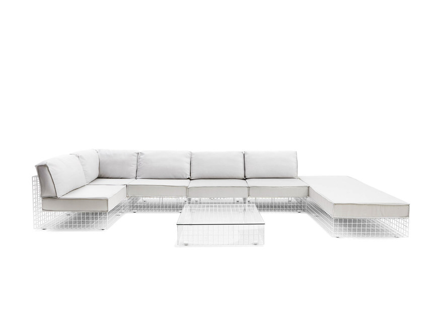 Sectional sofa GRID | Sectional sofa - Varaschin