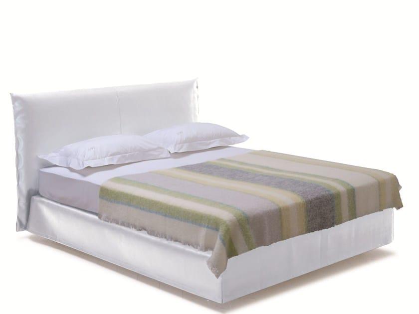 Double bed with removable cover SAVOY 21 + LOFT - H - Schramm Werkstätten