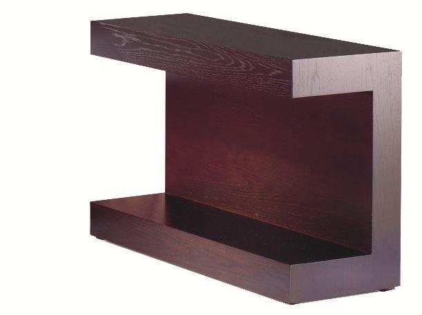 Lacquered wooden bedside table UR M7 - Schramm Werkstätten