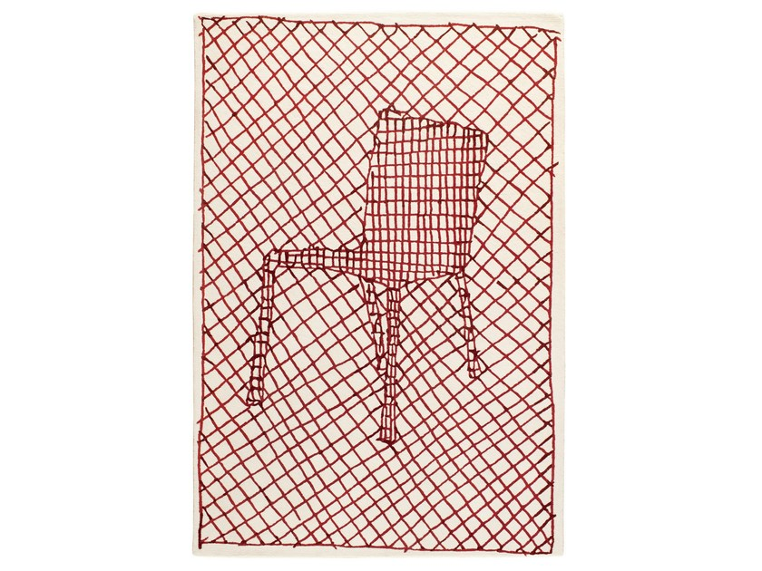 Rectangular wool rug LA CHAISE - Toulemonde Bochart