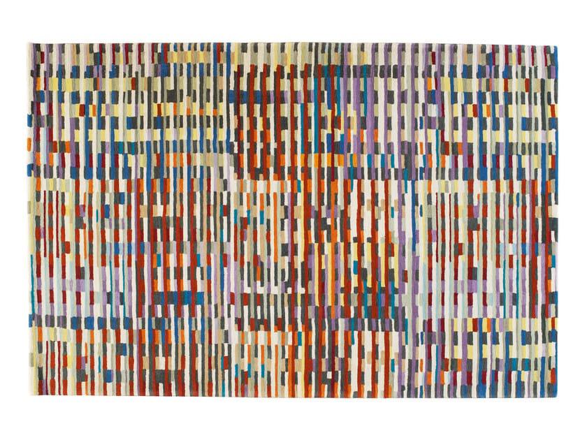 Rectangular wool rug CINETIC - Toulemonde Bochart