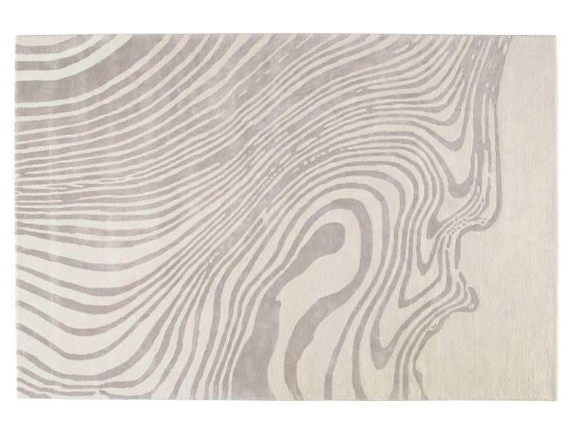 Patterned rectangular rug EBRU - Toulemonde Bochart