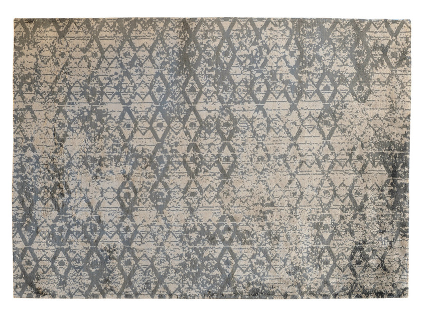 Patterned rectangular rug ERASE - Toulemonde Bochart