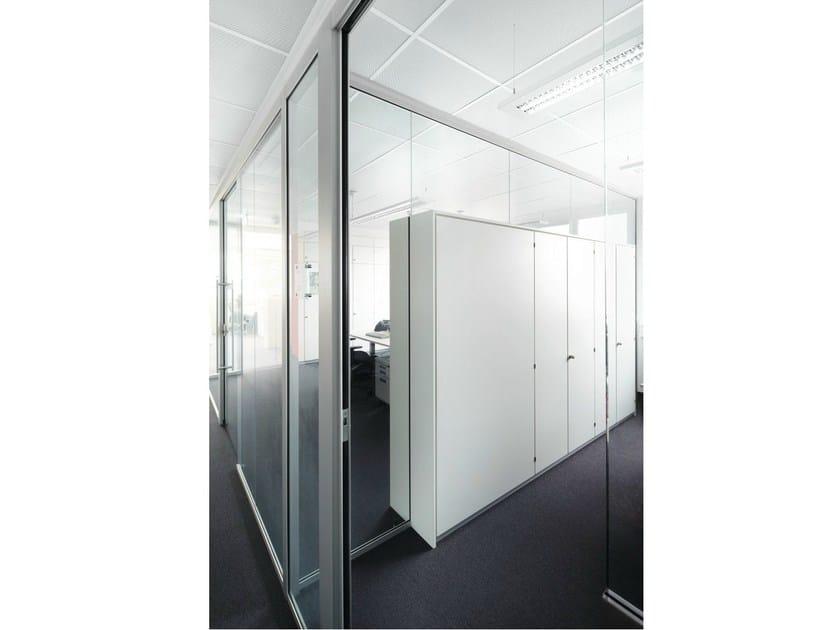 Parete mobile scorrevole in vetro per ufficio h68 k nig neurath - Parete mobile scorrevole ...