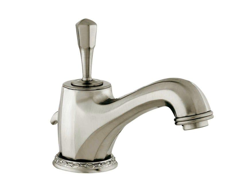 Nickel washbasin mixer with brushed finishing ADRIATICA | Nickel washbasin mixer - Bronces Mestre