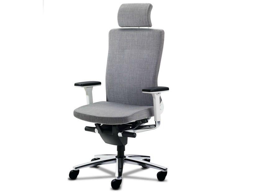 Executive chair with 5-spoke base with armrests LAMIGA | Executive chair - König + Neurath