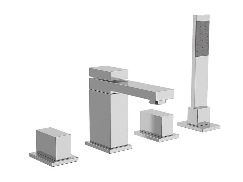 Bathtub set with hand shower TWIN   Bathtub set by Daniel Rubinetterie