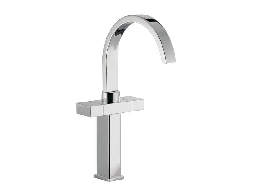 Countertop washbasin mixer with adjustable spout TWIN | Countertop washbasin mixer - Daniel Rubinetterie