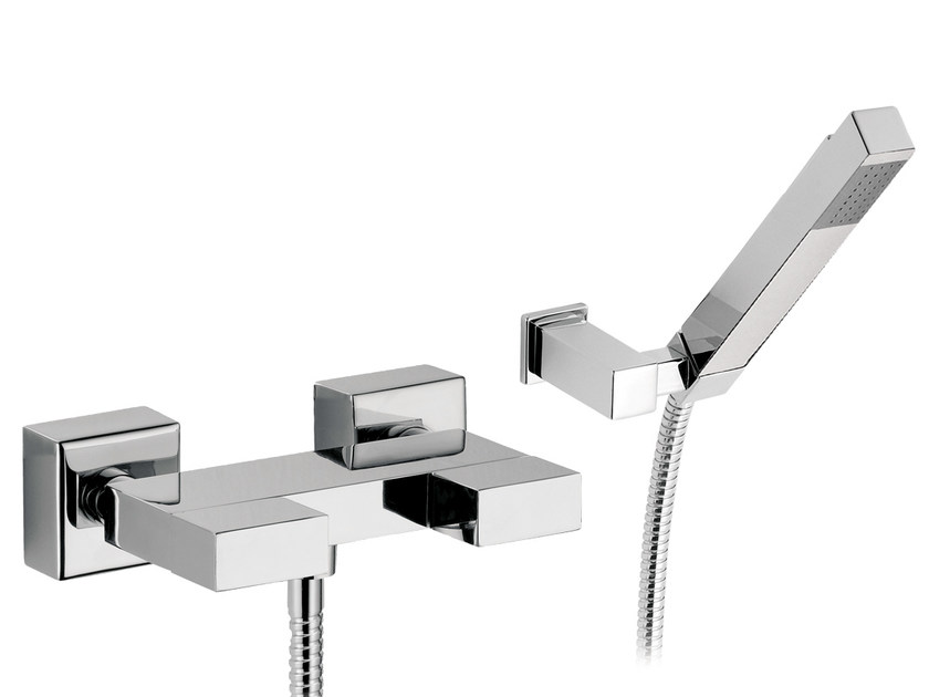 Shower mixer with hand shower TWIN | Shower mixer with hand shower - Daniel Rubinetterie