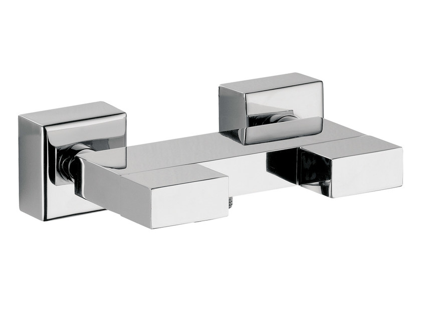 Chrome-plated shower mixer TWIN | Shower mixer - Daniel Rubinetterie