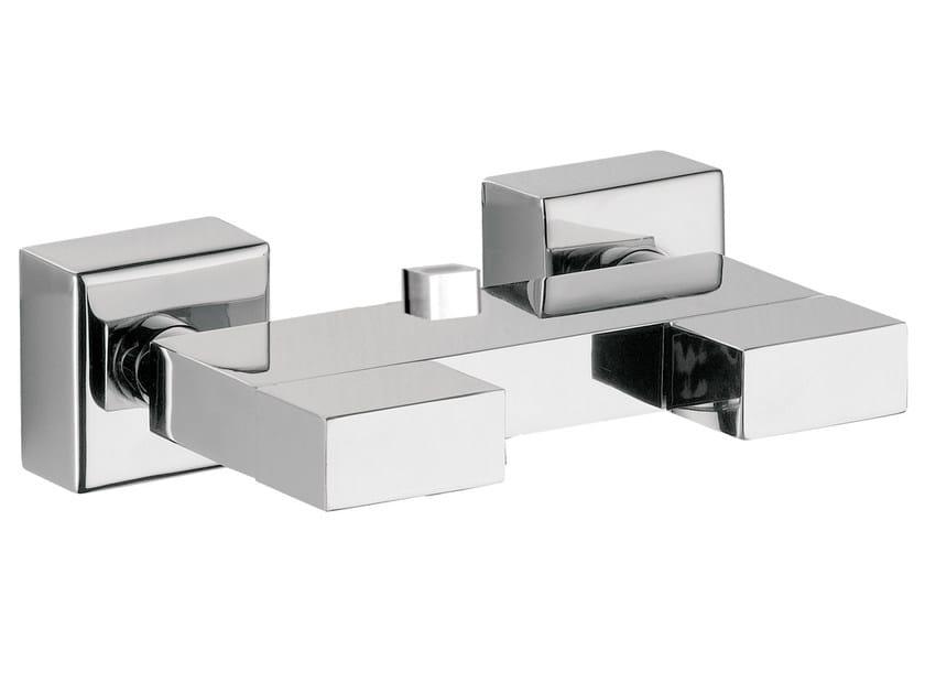 Chrome-plated shower mixer TWIN | Shower mixer by Daniel Rubinetterie