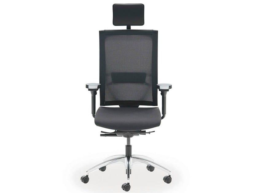 Executive chair with 5-spoke base with armrests OKAY | Executive chair - König + Neurath