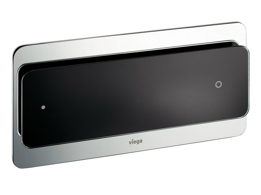 Glass and steel flush plate VISIGN FOR MORE 103 - Viega Italia