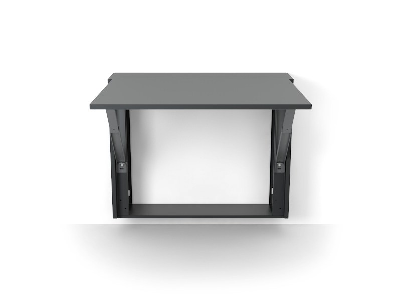 table murale rectangulaire london by evual m solutions. Black Bedroom Furniture Sets. Home Design Ideas