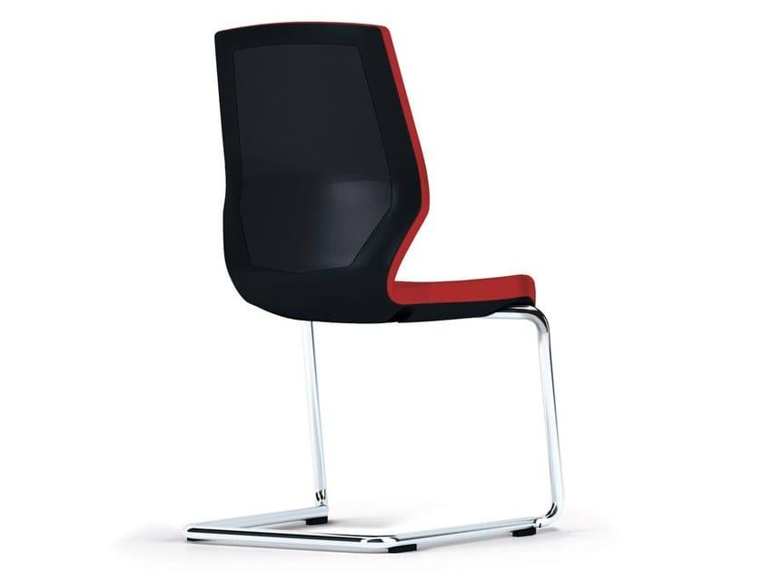 Cantilever reception chair JET II | Cantilever chair - König + Neurath