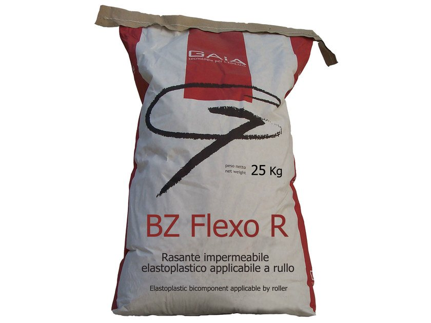 Cement-based waterproofing product BZ FLEXO R by GAIA