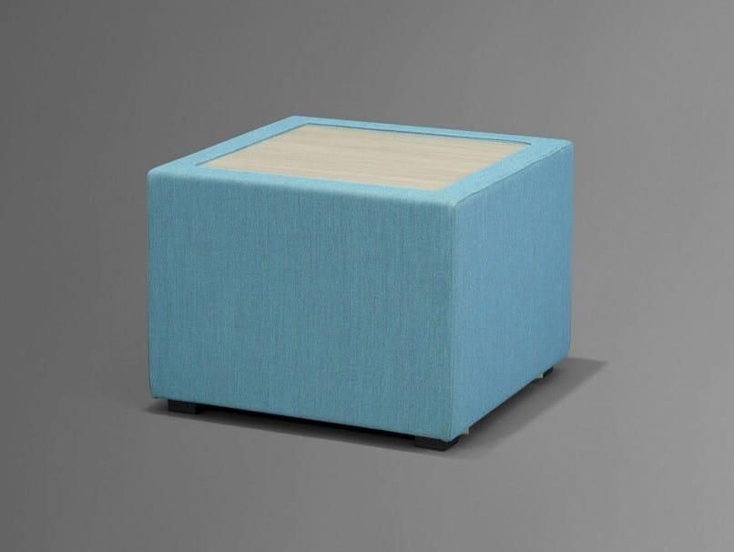Storage upholstered pouf NET.WORK.PLACE | Storage pouf - König + Neurath
