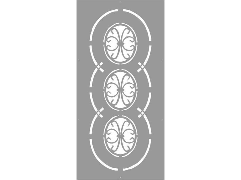 Modular iron Fence PAN.02 - CITYSì recinzioni e cancelli taglio laser