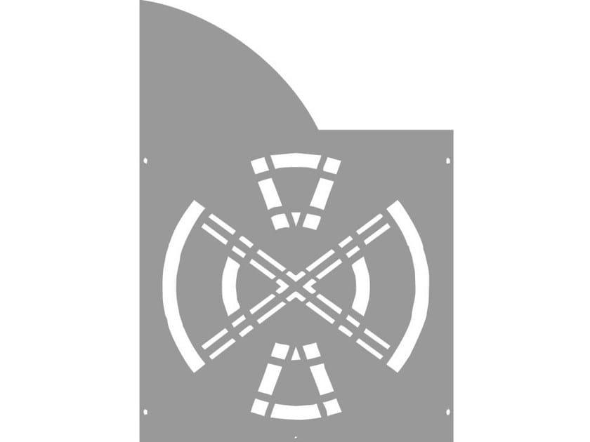 Modular iron Fence PAN.13 - CITYSì recinzioni e cancelli taglio laser