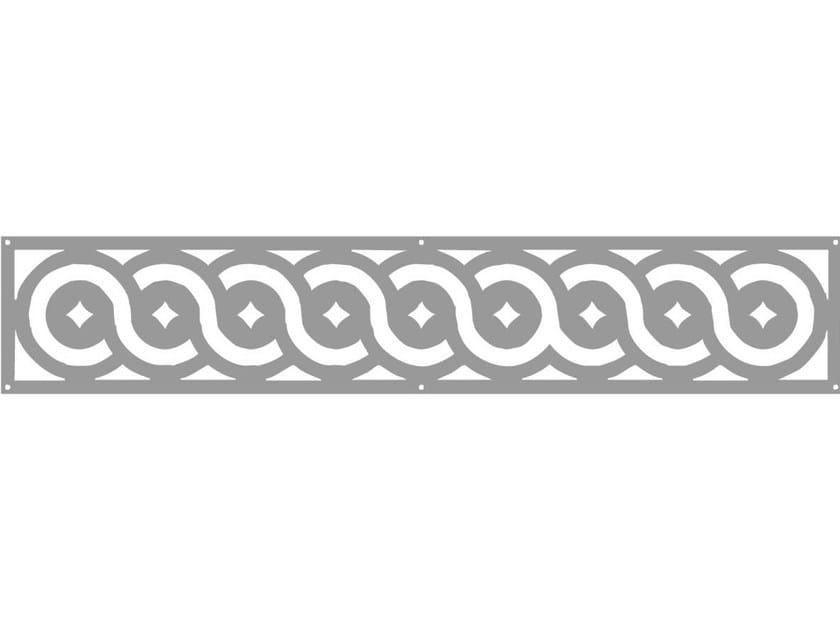 Modular iron Fence PAN.17 - CITYSì recinzioni e cancelli taglio laser