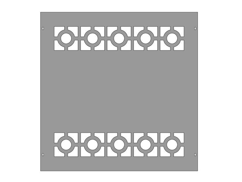 Modular iron Fence PAN.22 - CITYSì recinzioni e cancelli taglio laser