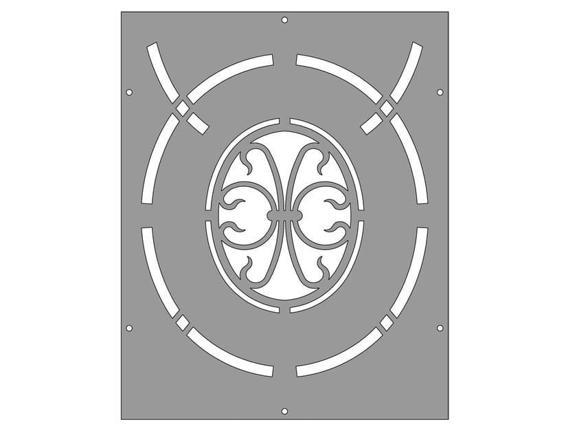 Modular iron Fence PAN.21 - CITYSì recinzioni e cancelli taglio laser