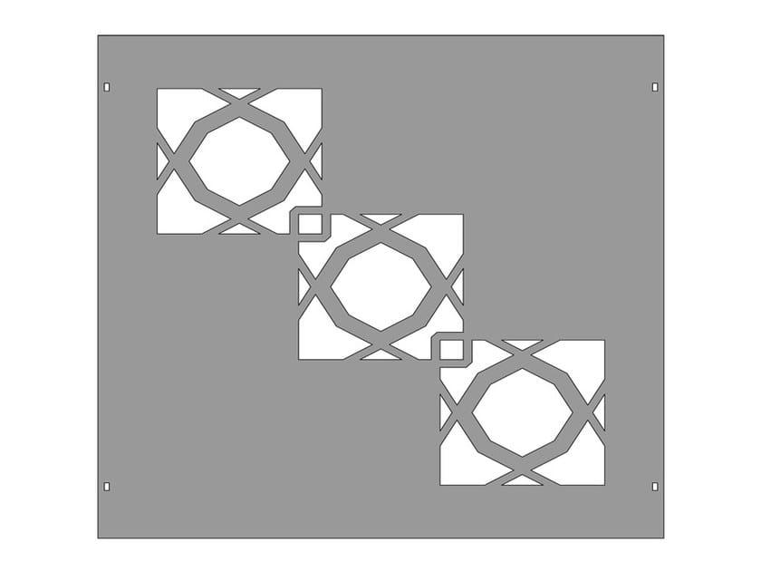 Modular iron Fence PAN.23 - CITYSì recinzioni e cancelli taglio laser