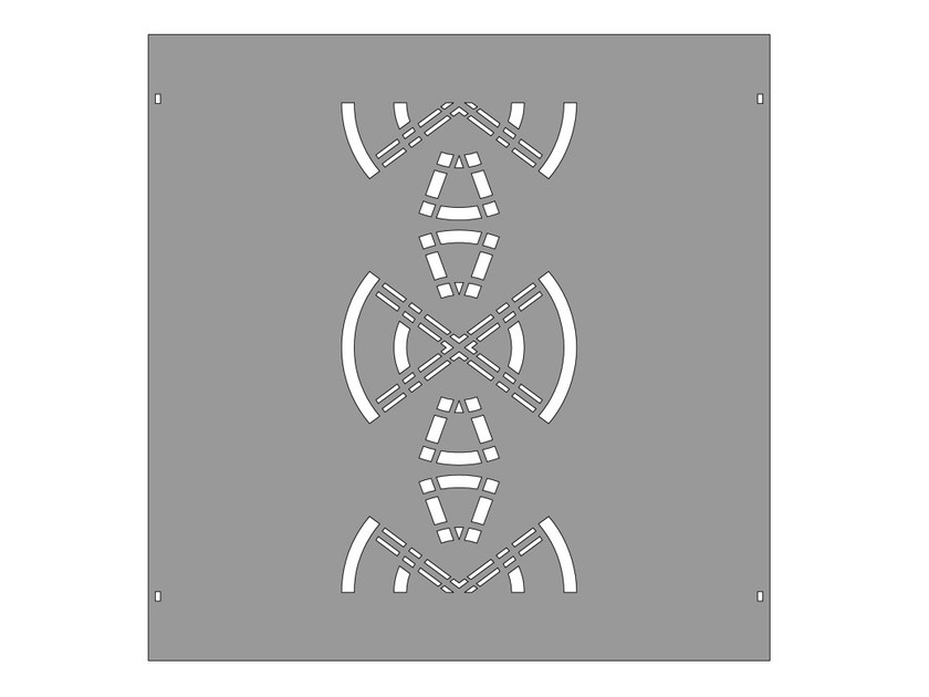 Modular iron Fence PAN.27 - CITYSì recinzioni e cancelli taglio laser