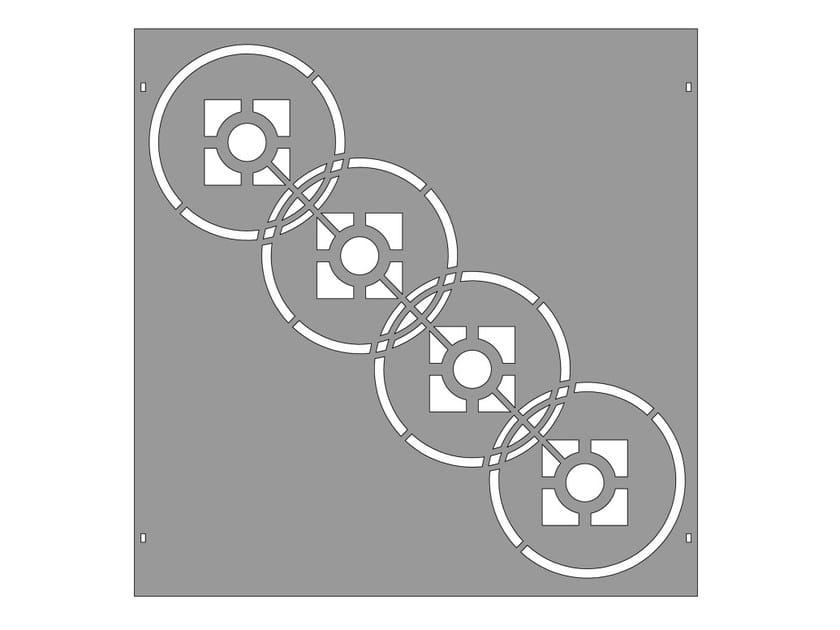 Modular iron Fence PAN.29 - CITYSì recinzioni e cancelli taglio laser