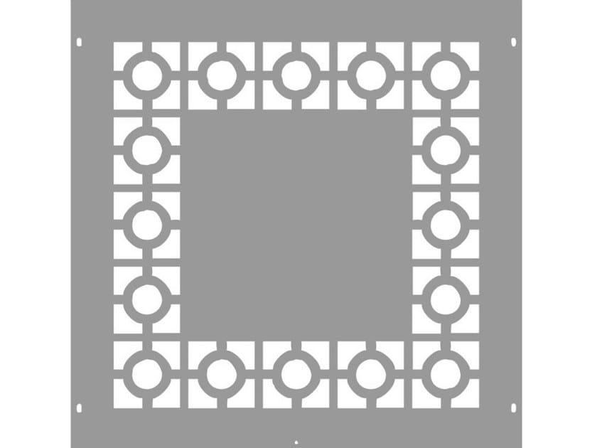 Modular iron Fence PAN.07 - CITYSì recinzioni e cancelli taglio laser