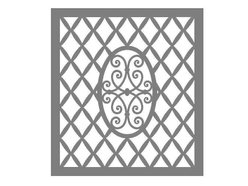 Modular iron Fence PAN.40 - CITYSì recinzioni e cancelli taglio laser