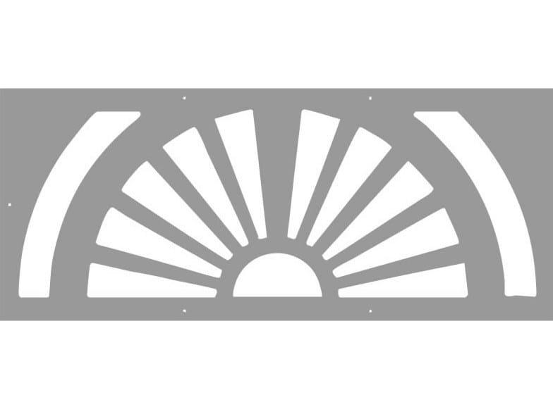 Modular iron Fence PAN.08 - CITYSì recinzioni e cancelli taglio laser