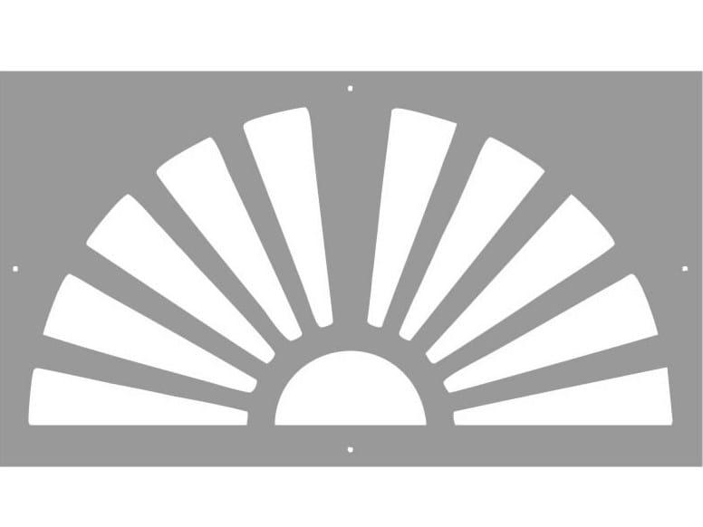Modular iron Fence PAN.09 - CITYSì recinzioni e cancelli taglio laser