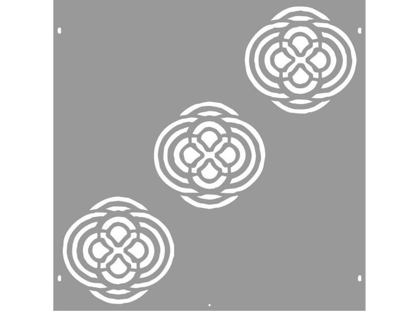 Modular iron Fence PAN.10 - CITYSì recinzioni e cancelli taglio laser