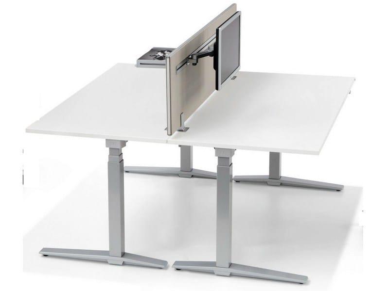inside 25 schreibtisch trennwand f r schreibtisch by k nig neurath. Black Bedroom Furniture Sets. Home Design Ideas