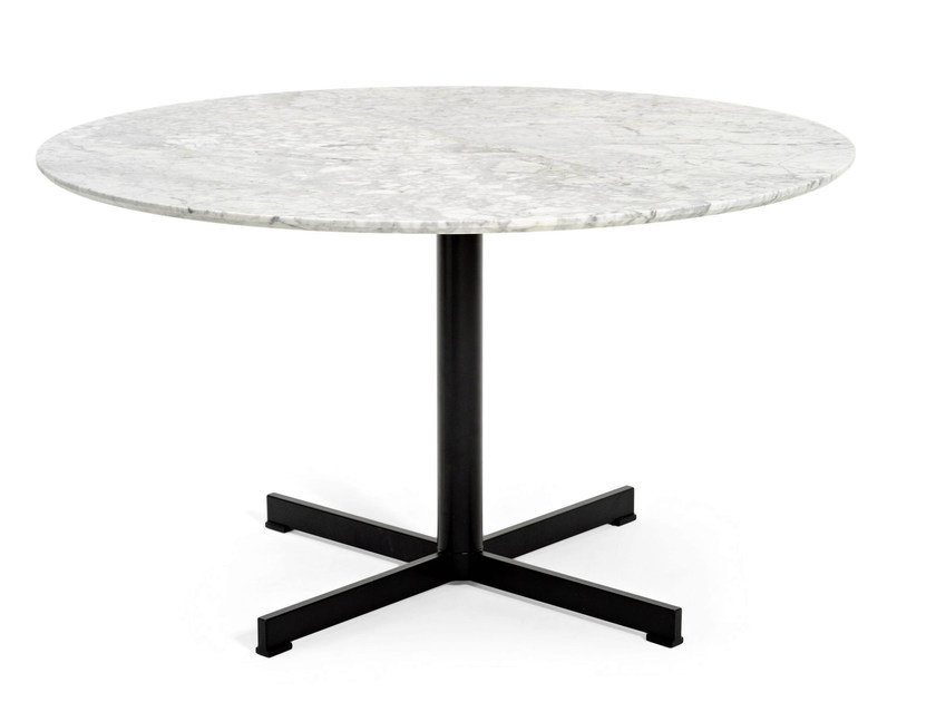 Round marble table SUMMERSET | Table - Varaschin