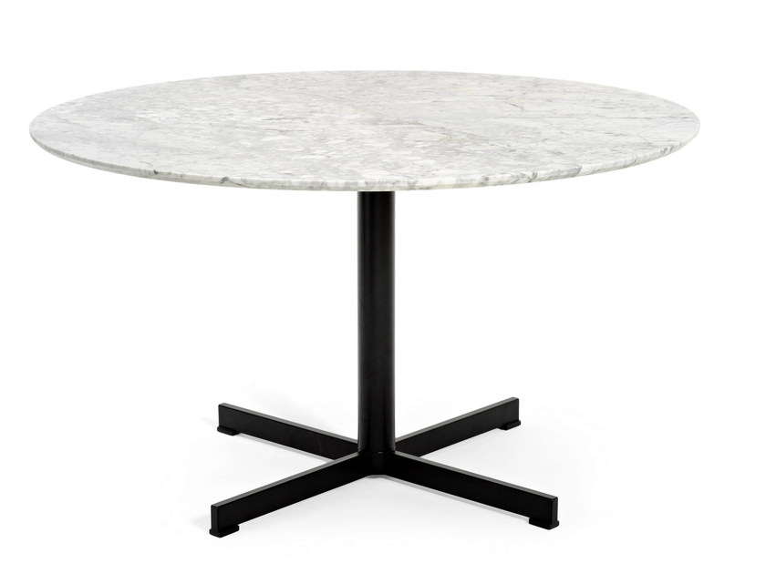 Round marble table SUMMERSET | Table by Varaschin