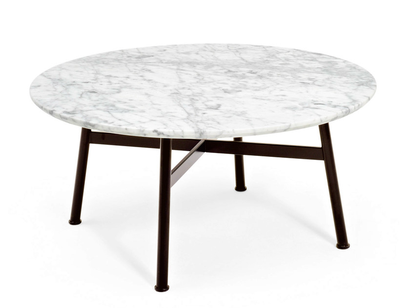 Round marble coffee table SUMMERSET | Coffee table - Varaschin