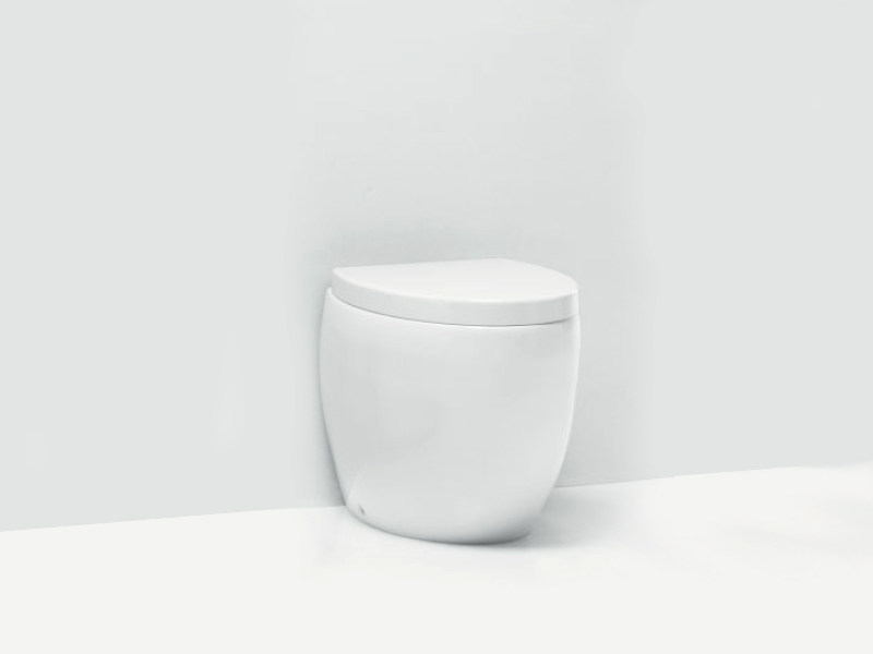Ceramic toilet OVAL WC - A. e T. Italia