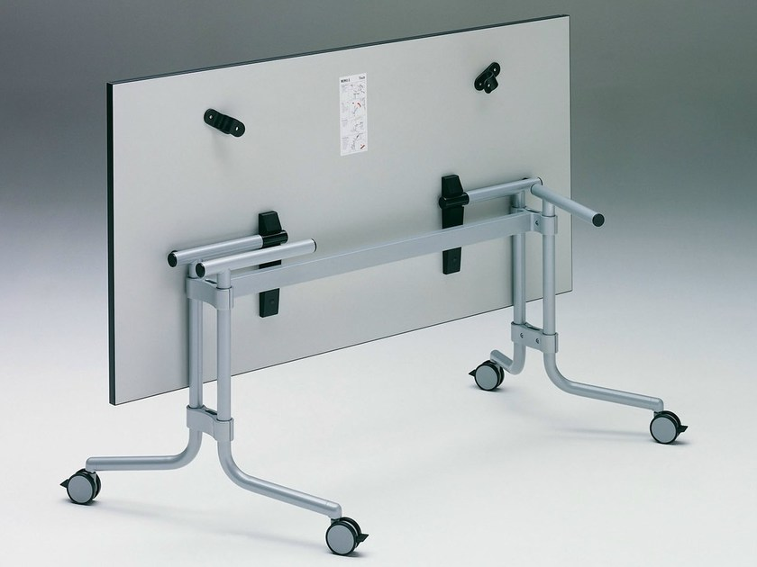 Folding meeting table with casters MEMO S - König + Neurath