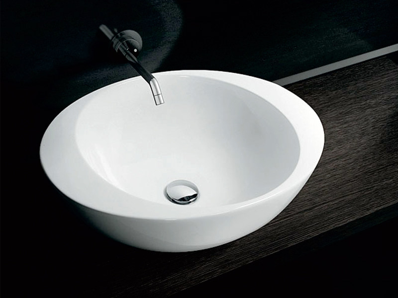 Ceramic washbasin ACCENT BASIN - A. e T. Italia