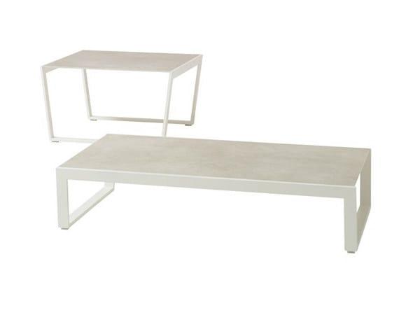 Rectangular garden side table CALMA | Coffee table - Andreu World