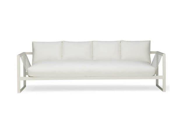 4 seater garden sofa SAND | 4 seater sofa - Andreu World
